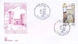 Italia 1989 FDC CAPITOLIUM Folclore Italiano Spello Le Infiorate - Culture