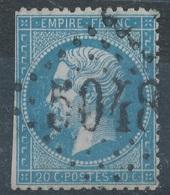 N°22 LOSANGE GRANDS CHIFFRES 5048 - 1862 Napoleone III