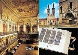 Czech R. Tepla Historicka Knihovna Library Book Church Eglise - Czech Republic