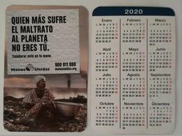 2020 CALENDARIO ONG MANOS UNIDAS. - Calendarios