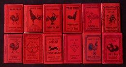Lot 12 Paquets Neuf FEUILLES PAPIER à Rouler Cigarette Rolling Papers THAILAND LAOS - Objetos Para Fumadores