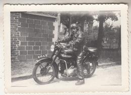 Moto - Conducteur - Photo 6.5 X 9 Cm - Cycling