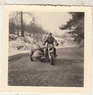 Moto Side Car - Photo 6.5 X 7 Cm - Cycling