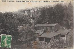 83)    SAINT CYR Sur MER  - Le Chateau  - La Ressence Usine - Saint-Cyr-sur-Mer