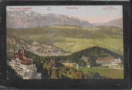 AK 0384  Semmering - Grand Hotel Südbahn Und Kurhaus - Verlag Nachbargauer Um 1910 - Semmering