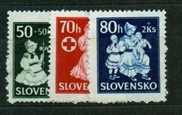 Slovakia 1943 Michel: 112-114 ** MNH - Slovakia