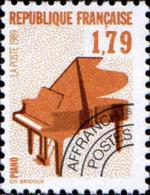 France Préo N** Yv:203 Mi:2740C Piano (Thème) - Musica