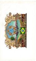 Etiquette De Boîte à Cigares, Lithographiée, Litho N° 102052 : ESTADOS UNIDOS DO BRAZIL - 15 De Novembro De 1889. - Etiquetas