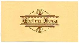 Etiquette De Boîte à Cigares, Lithographiée, Litho N° 28844 : EXTRA FINA. - Etiquetas