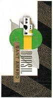 Etiquette De Boîte à Cigares, Lithographiée, Litho N° 39487 : BRASIL - SAN AMARO. - Etiquetas
