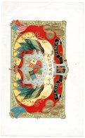 Etiquette De Boîte à Cigares, Lithographiée, Litho LA SARITA - FLOR FINA. - Etiquetas