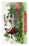 Etiquette De Boîte à Cigares, Lithographiée, Litho N° 3345 : MURONA. - Etiquetas