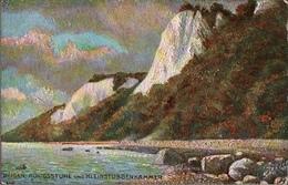 ! Alte Ansichtskarte Serie Rügen, Kreidefelsen, Oilette Nr. 189 Raphael Tuck & Sons - Rügen