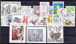 ** Slovaquie 2000 Mi 359-384, (MNH) L'année Complete - Slovakia