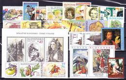 ** Slovaquie 2008 Mi 572-595, (MNH) L'année Complete - Slovakia
