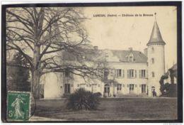 3633 . LUREUIL . CHATEAU DE LA BROSSE  (recto/verso)   ANNEE  1914 - Francia