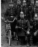 Zuffenhausen / Motorrad / Moto /  Regiment Sehr Schön Belle !  /allemande Carte Photo -1914-1918 WWI - Guerra 1914-18