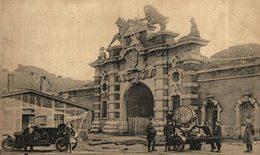 TRES RARE Garnison D'Anvers - Porte De Malines - Le Projecteur De 90 Cm En Bataille - ( Auto ) ANTWERPEN MECHELSE POORT - Antwerpen
