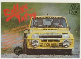 AK  Rallye Tatry - Rally
