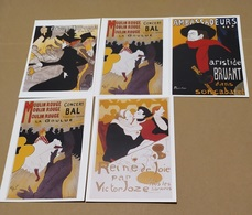5 CART.  TOULOUSE LAUTREC    (66) - Cartoline