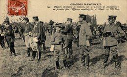 CHINE  Grandes Manoeuvres D'automne - Officiers étrangers En Mission Sur Le Terrain - Officiers Monténégrins Et Chinois - Weltkrieg 1914-18