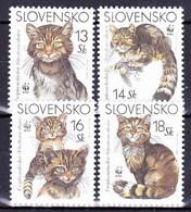 ** Slovaquie 2003 Mi 458-61, (MNH) - Slovakia