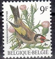 Belgique 1985 COB 2190 Neuf ** Cote (2016) 1.00 Euro Oiseau Chardonneret - Belgique