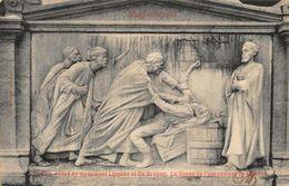 Blankenberghe La Bas Relief Du Monument Lippens De Bruyne Postcard - Postcards