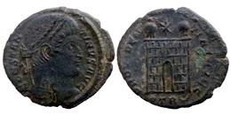 Constantin I - AE Follis Réduit - PROVIDENTIAE AVGG - Trier (7136) - 7. The Christian Empire (307 AD To 363 AD)