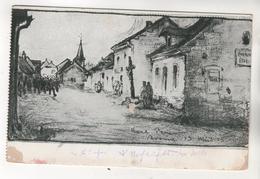 9284, Feldpostkarte, Avaux - Oorlog 1914-18
