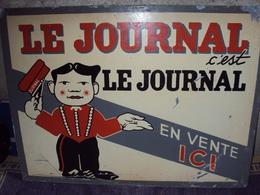 """Plaque De Presse """"LE JOURNAL"""" - Tijdschriften"""