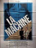 AFF CINE ORIG LA MACHINE Paul Vecchiali 120X160 Hélène Surgère - Manifesti & Poster