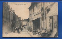 VIBRAYE   Rue De L'église    Animées   écrite En 1907 - Vibraye