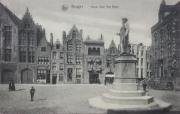 (2209) Brugge - Bruges - Place Jean Van Eyck - Brugge
