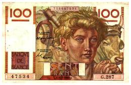 Billets > France > 100 Francs A.27-1-1949.A. > G.287 - 1871-1952 Anciens Francs Circulés Au XXème