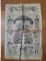 Excelsior 6 Octobre 1912 . Qui Gagnera Cet Après-midi,  Le Prix Du Conseil Municipal ? - Kranten