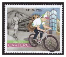 2018 MÉXICO DÍA DEL CARTERO, STAMP MNH  MAILMAN DAY, BICYCLE - Mexico