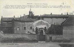 71 MACON   CPA  Couvent De La Visitation  CPA écrite En 1918 - Macon