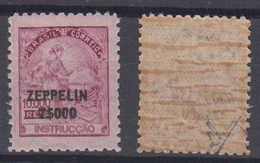 Brazil Brasil Mi# 370 ** MNH 7$000 Overprint Zeppelin 1932 - Brazilië