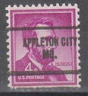 USA Precancel Vorausentwertung Preo, Locals Missouri, Appleton City 704 - Vereinigte Staaten