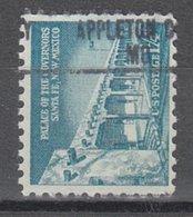 USA Precancel Vorausentwertung Preo, Locals Missouri, Appleton City 813 - Vereinigte Staaten