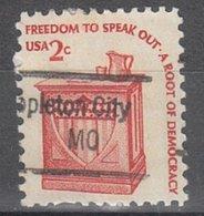 USA Precancel Vorausentwertung Preo, Locals Missouri, Appleton City 843 - Vereinigte Staaten