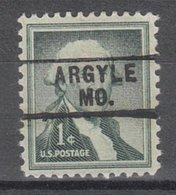 USA Precancel Vorausentwertung Preo, Locals Missouri, Argyle 745 - Vereinigte Staaten