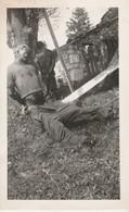 Photo 11,5 X 7,1 Cm , Scène De Guerre , Pendaison , Exécution , Non Située - Guerres - Autres