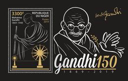 Niger. 2019 150th Anniversary Of The Birth Of Mahatma Gandhi. (0518b) OFFICIAL ISSUE - Mahatma Gandhi