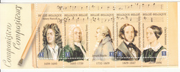 2009 Belgium Music Composers Handel Haydn Complete Booklet MNH @ BELOW FACE VALUE - Musica