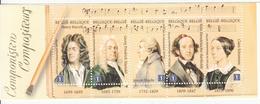 2009 Belgium Music Composers Handel Haydn Complete Booklet MNH @ BELOW FACE VALUE - Muziek