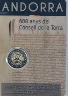 2Eeuro; Commémorative ANDORRE 2019 -- - Andorre