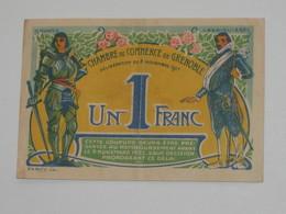 1 Franc 1917 Chambre De Commerce De Grenoble  **** EN ACHAT IMMEDIAT **** - Handelskammer