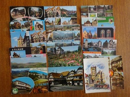 Alsace Depts 67/68 Lot De 16 Cartes Postales Eguisheim, Kayserberg, Ribeauvillé,Munster, Soultzeren, Saverne, Hunspach - 5 - 99 Cartes